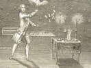 Magie blanche : série de gravures XVIIIe..