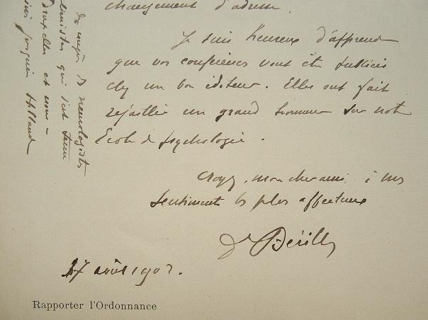 Le Dr Bérillon au congrès des aliénistes de Bruxelles.. Edgar Bérillon (1859-1948) Psychiatre, fondateur de l'Institut psychophysiologique, ...
