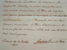 Le prince de Wasa répond au comte de Chambord.. Gustave (prince de Wasa) Holstein-Gottorp (1799-1877) Fils du roi Gustave IV de Suède. Après ...
