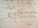 Réunion de sages dans les jardins du philosophe Azaïs.. Pierre Hyacinthe Azaïs (1766-1845) Philosophe, auteur de la théorie des compensations.