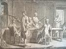 Fabrication des armes blanches au XVIIIe en dix gravures..
