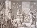 L'art du perruquier et du barbier au XVIIIe en 12 planches..