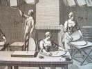 La fabrication des éventails au XVIIIe..