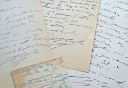 Commandant Roche. 3 lettres. 1912-1913..