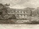 Vues animées du pont du Gard au début du XIXe..