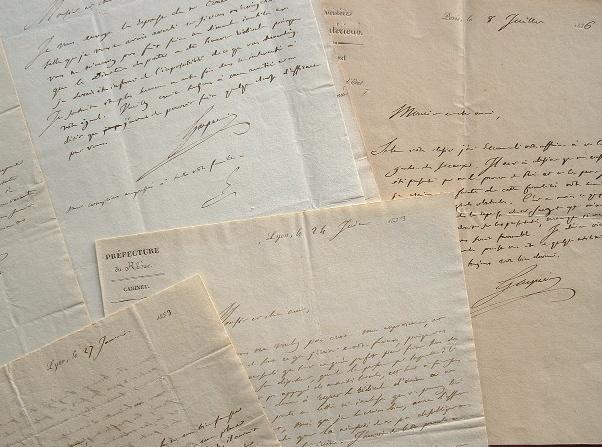 Adrien de Gasparin intervient pour une place de directeur des Postes.. Adrien Gasparin (de) (1783-1862) Agronome, promoteur de l'application des ...