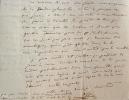 Mgr Affre commente le projet de loi sur l'enseignement.. Denys Affre (Mgr) (1793-1848) 126e archevêque de Paris, il s'intéresse tout particulièrement ...
