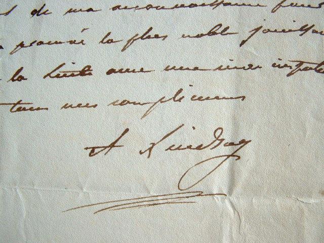 Le général Lindsay félicite le comte de Lévis..