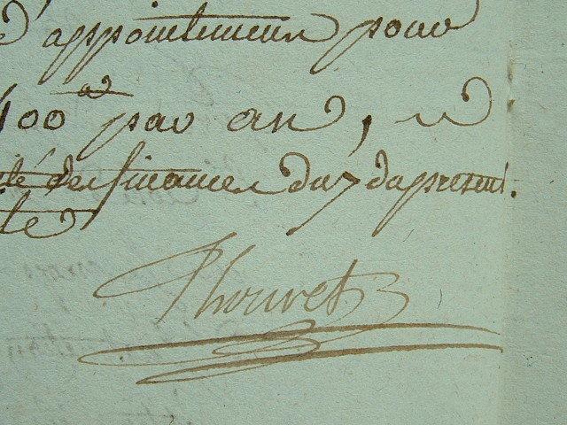 Thouret soutient les garçons de salle de l'Ecole de santé.. Michel Augustin Thouret (1749-1810) Médecin. Directeur de l'Ecole de Santé, dès sa ...