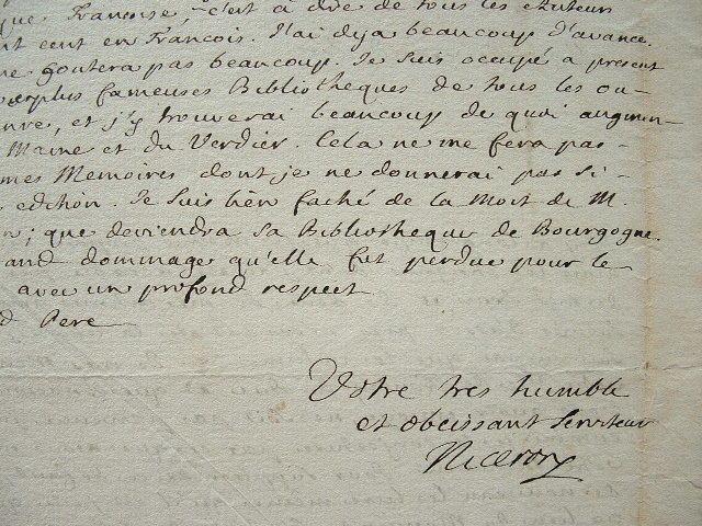 Jean-Pierre Nicéron intarissable pour ses Mémoires.. Jean-Pierre Nicéron (1685-1738) Historien. Auteur des Mémoires pour servir à l'histoire des ...