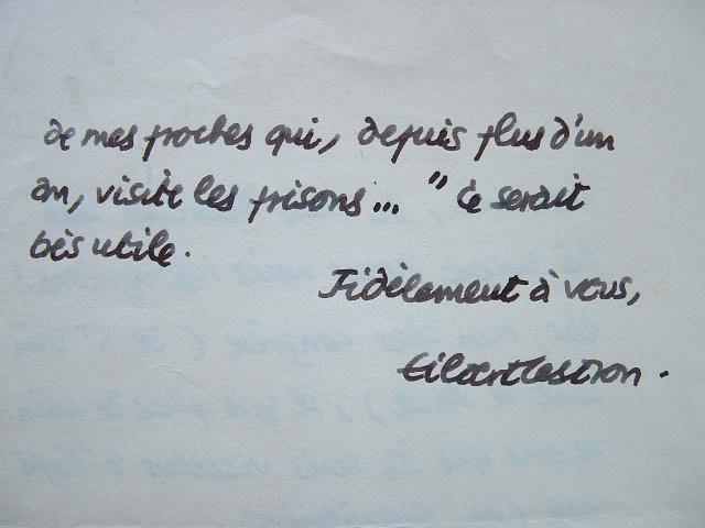 Gilbert Cesbron met en pratique ses convictions.. Gilbert Cesbron (1913-1979) Romancier et essayiste d'inspiration catholique, prix Sainte-Beuve.