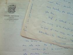 Gérard Mourgue, habile critique littéraire.. Gérard Mourgue (1921-1995) Libraire, journaliste et galériste.