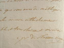 Demande délicate de Nassau Siegen à Louis XVI.. Charles Henri Nassau-Siegen (prince de) (1743-1808) Explorateur, il participe au voyage autour du ...