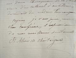 Le numismate Alexis de Chasteigner fait des recherches généalogiques.. Alexis Chasteigner de La Roche-Posay (de) (1821-1900) Numismate et archéologue, ...