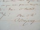 Lettre du compositeur Mézeray à Elwart.. Louis Charles Lazard Costard Mézeray (de) (1810-1887) Chef d'orchestre très jeune, il dirige les orchestres ...