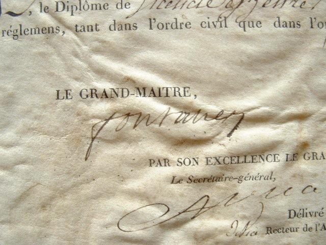Pastoret obtient sa licence de lettres.. Louis Fontanes (de) (1757-1821) Homme d'Etat et littérateur. Premier Grand Maître de l'Université de France. ...