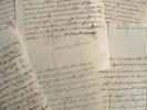 Correspondance du marquis de Suse, frère du roi de Savoie.. Victor Amédée François Philippe Savoie (de) (1694-1762) Frère du roi, marquis de Suse, ...