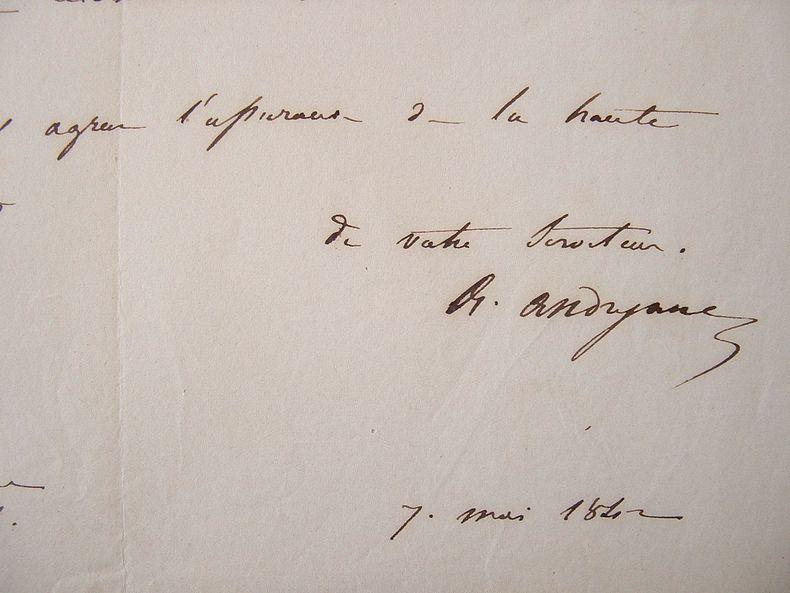 Alexandre Andryane intervient pour une bourse.. Alexandre Philippe Andryane (1797-1863) Carbonaro français, compagnon de prison et ami de Sylvio ...