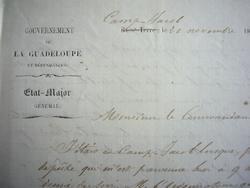 Le gouverneur de la Guadeloupe retenu à Camp-Jacob..