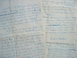 Robert Mallet fait l'éloge du Portugal.. Robert Mallet (1915-2002) Poète et romancier, diplomate, fondateur de l'Académie d'Amiens.