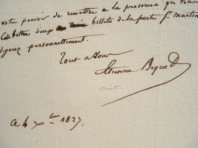 Etienne Béquet. La lune de Miel de Carmouche.. Etienne Béquet (1796-1838) Littérateur. Rédacteur au Journal des débats pendant quinze ans.