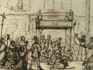 Procession en l'honneur de la Sainte-Vierge..
