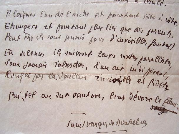Manuscrit des Exilés de Saint-Georges de Bouhélier.. Stéphane Georges de Bouhélier Lepelletier dit Saint-Georges de Bouhélier (1876-1947) Auteur ...