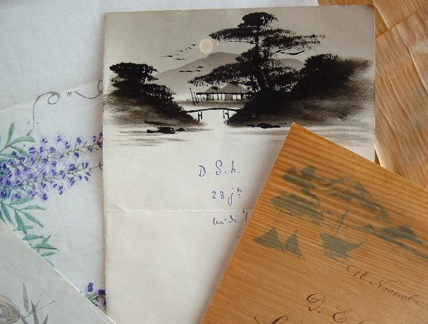 Lettres illustrées d'Extrême-Orient..