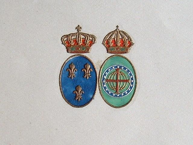La comtesse de Paris convalescente.. Isabelle Orléans (d') et Bragance, comtesse de Paris (1911-2003) Comtesse de Paris, épouse du prétendant au trône ...
