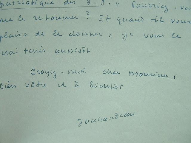 Jouhandeau veut revoir son article.. Marcel Jouhandeau (1888-1979) Ecrivain, auteur de Chaminadour.