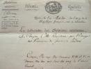 Le ministre Caillard annonce la victoire navale d'Algésiras.. Antoine Bernard Caillard (1737-1807) Diplomate, il assure l'intérim du ministère des ...