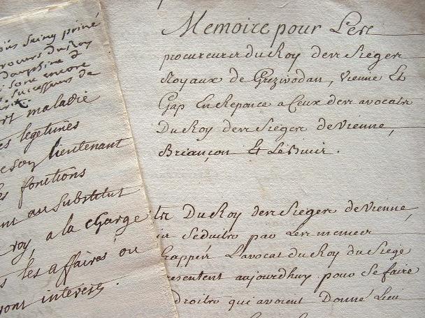 Briançon et Le Buis réclament l'égalité des droits..