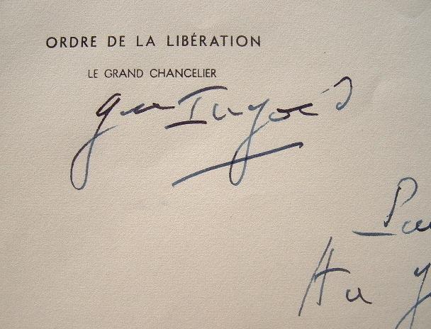 Ingold salue un engagé volontaire de 1940.. François Ingold (1894-1980) Il participe à la campagne du Tchad (1939), part pour le Niger (1948), où il ...