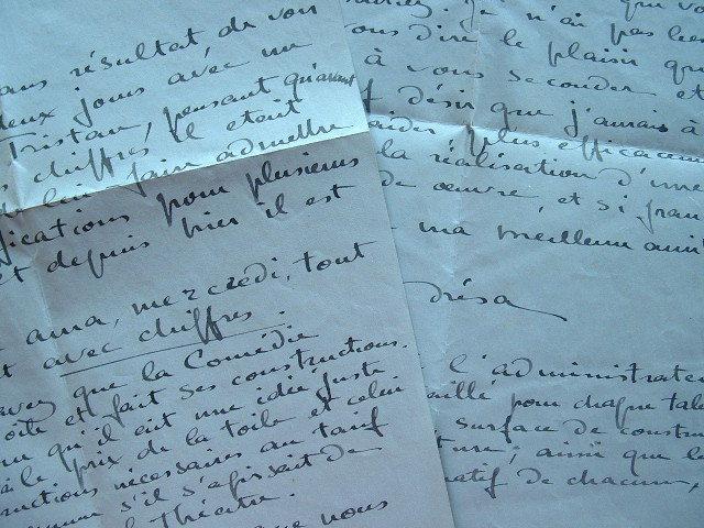 Le décorateur Drésa passionné par Tristan et Iseut.. Jacques Drésa (André Saglio) (1869-1929) Peintre et décorateur de théâtre.