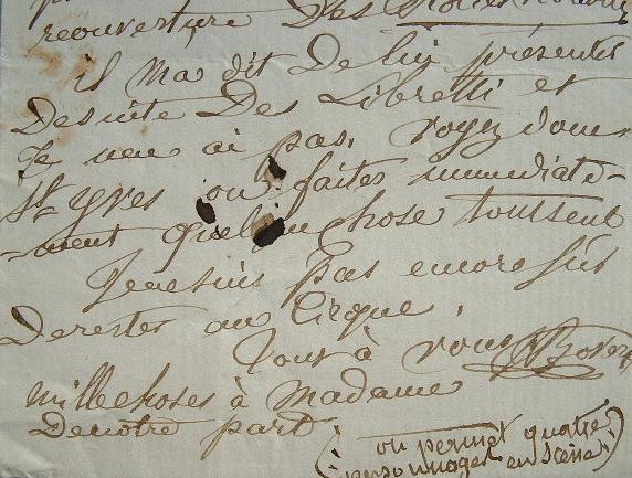 Georges Boyer en panne d'inspiration pour ses libretti.. Georges Victor Louis Joseph Boyer (1750-1831) Homme de lettres et librettiste. Auteur de ...