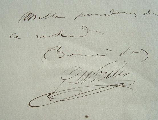Gustave Horms. Les mille pardons de l'acteur.. Gustave Horms (1837-1919) Comédien, sociétaire de la Comédie-française.
