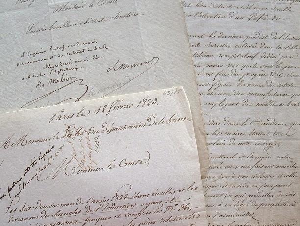 Sébastien Lenormand et Moléon lancent les Annales de l'Industrie.. Jean Gabriel Victor Moléon (de) (1784-1856) Savant, ingénieur en chef du cadastre, ...