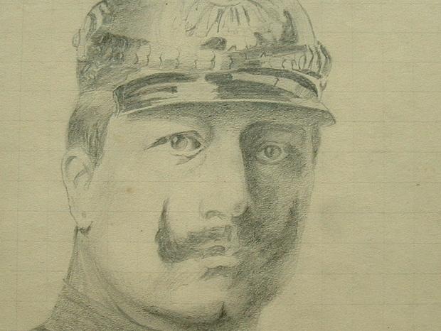 Portrait de l'empereur allemand, Guillaume II..