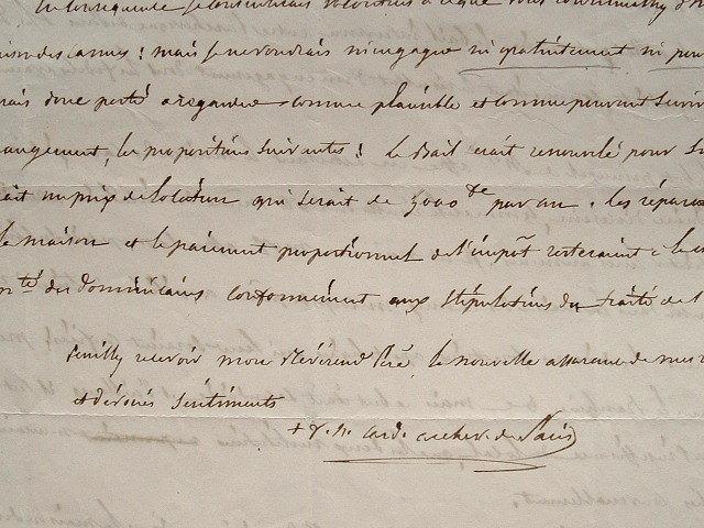Les Dominicains et l'archevêché de Paris se disputent la maison des Carmes.. François Nicolas Madeleine Morlot (1795-1862) Cardinal, évêque d'Orléans ...