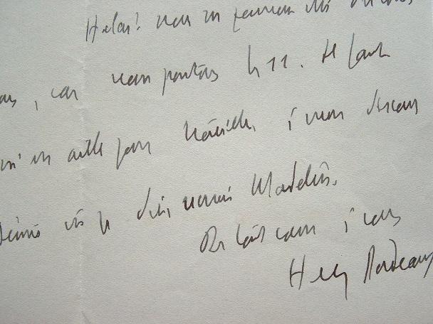 Henry Bordeaux prépare un discours sur Louis Madelin.. Henry Bordeaux (1870-1963) Romancier, critique littéraire, académicien (1919). Avocat de ...