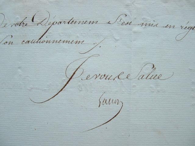 Le ministre des Finances de Napoléon rappelle à l'ordre un préfet.. Martin Gaudin (duc de Gaëte) (1756-1841) Ministre des Finances (1799-1814). Créé ...