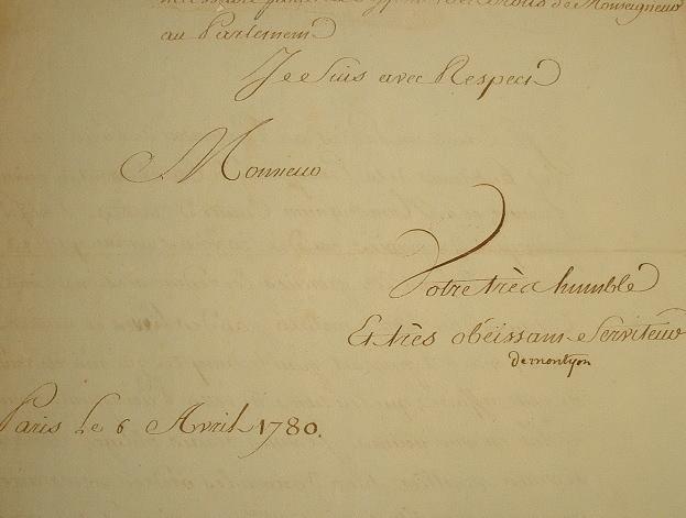Montyon protège les intérêts d'un frère de Louis XVI.. Jean Baptiste Antoine Auget Montyon (baron de) (1733-1820) Philanthrope et économiste.