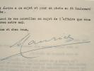 Maurice Chevalier lance son ami Georgel.. Maurice Chevalier (1888-1972) Chanteur et acteur.