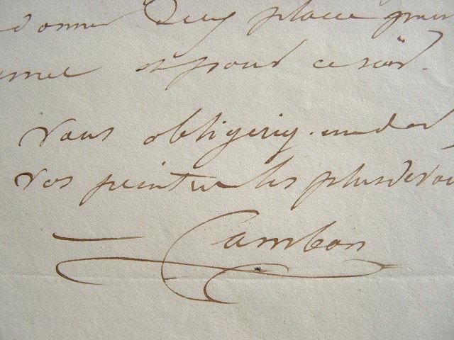 Charles Cambon de sortie.. Charles Cambon (1802-1875) Peintre et décorateur de Théâtre, associé de Philastre.