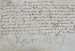 Le médecin de Charles IX reçoit une rente sur les drogueries..