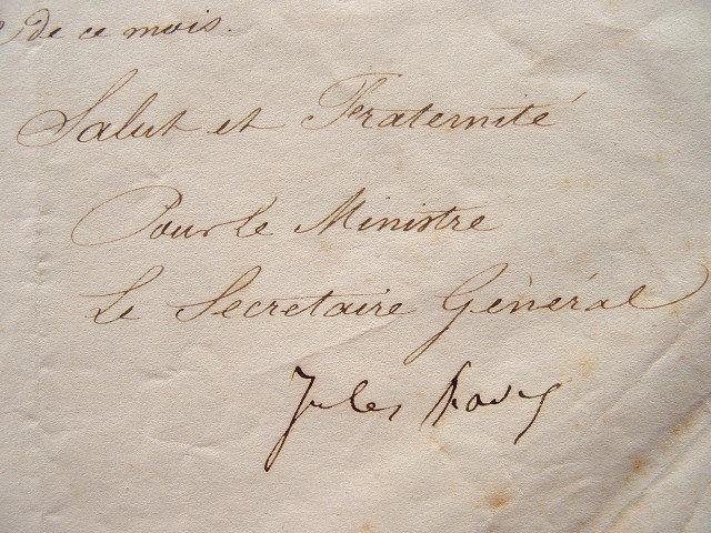 Jules Favre reprend à l'ordre un commissaire du Nord.. Jules Favre (1809-1880) Ardent républicain, opposant de l'Empire. Secrétaire général du ...