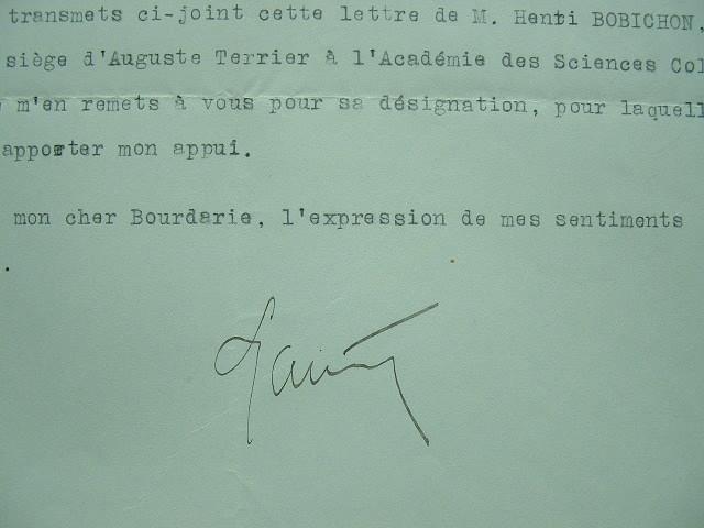 Lyautey soutient un candidat à l'Académie des Sciences Coloniales.. Hubert Lyautey (1854-1934) Maréchal de France, emblématique résident général au ...
