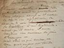 Première ébauche d'un pamphlet publié en 1848..