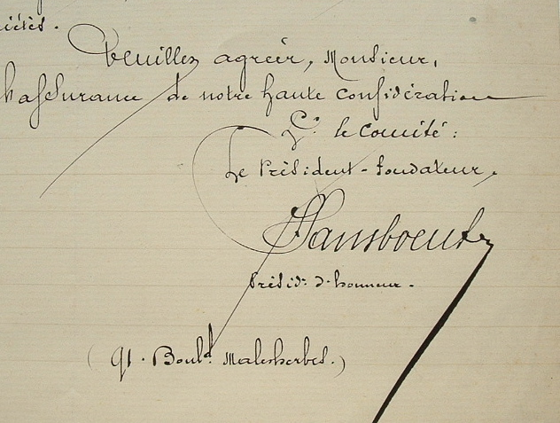 Joseph Sansboeuf, gymnaste et patriote.. Joseph Sansboeuf (1848-1938) Fondateur de l'Association des Sociétés de Gymnastique de la Seine (ASGS), ...