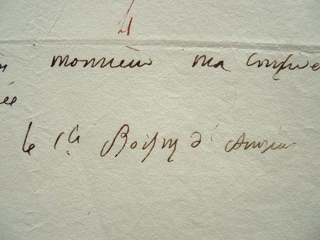Boissy d'Anglas réclame un paiement en or.. François Antoine Boissy d'Anglas (1756-1826) Conventionnel, membre du Comité de Salut Public, président du ...